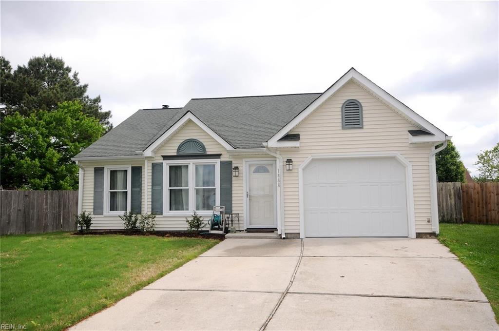 1856 grinnell ct in virginia beach va home sold for Architectural exterior design virginia beach